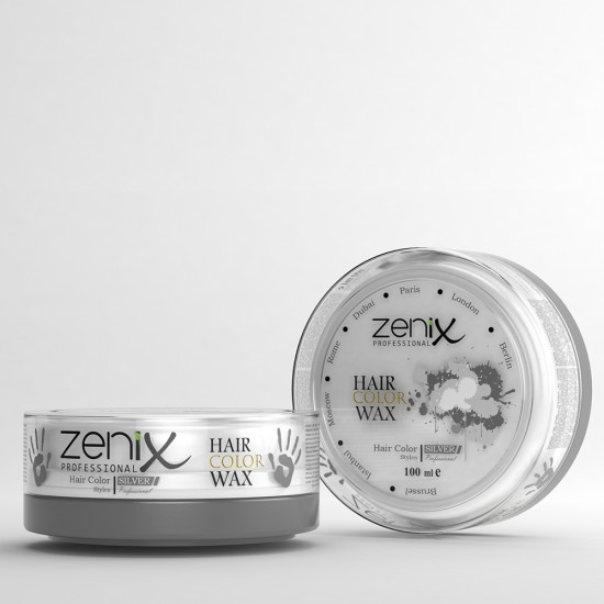 HAIR WAX COLOR SILVER 100 ML