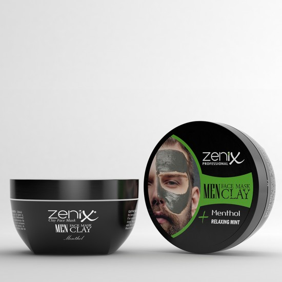 MEN FACE SERIES CLAY MASK MINT 350 G